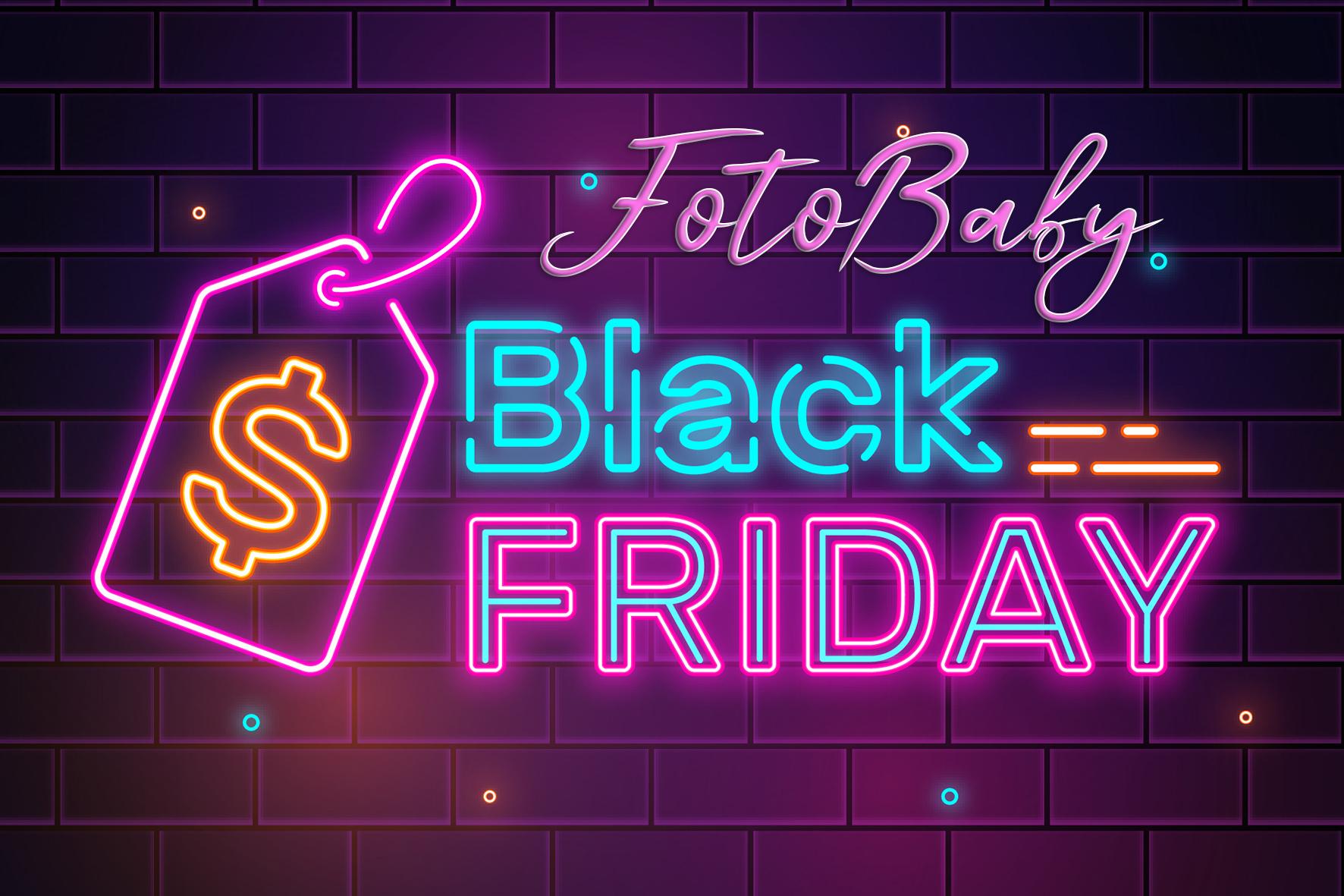 Promoción Black Friday FotoBaby Granada
