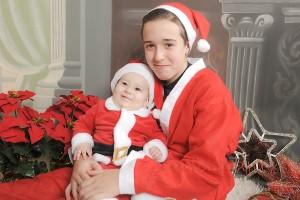 Fotografías de estudio para Navidad en Granada FotoBaby Fotografa infantil bebes embarazo fotografos (15)