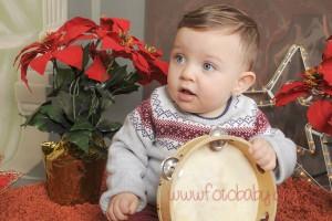 Fotografías de estudio para Navidad en Granada FotoBaby Fotografa infantil bebes embarazo fotografos (7)