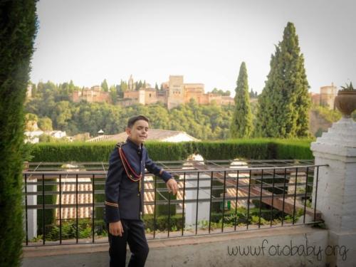 Reportaje de fotos de primera comunión FotoBaby Granada fotografos exteriores y estudio (27)
