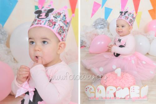 Smash Cake sesión fotográfica divertida fotobaby fotografa infantil en granada new born embarazo familiar recién nacido (1)