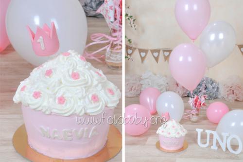 Smash Cake sesión fotográfica divertida fotobaby fotografa infantil en granada new born embarazo familiar recién nacido (3)