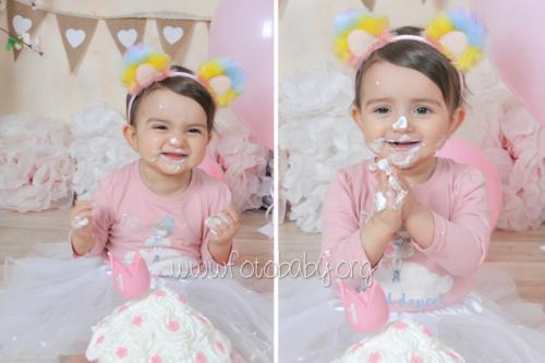 Smash Cake sesión fotográfica divertida fotobaby fotografa infantil en granada new born embarazo familiar recién nacido (4)